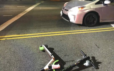Electric Scooters: A quick way around town, or a quick trip to the ER?